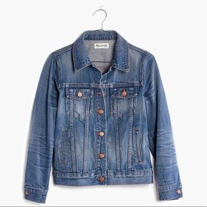 NWOT Madewell The Jean Jacket in Pinter Wash